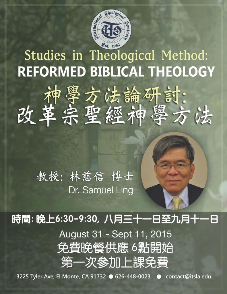 reformed bibical theology - chinese - preview